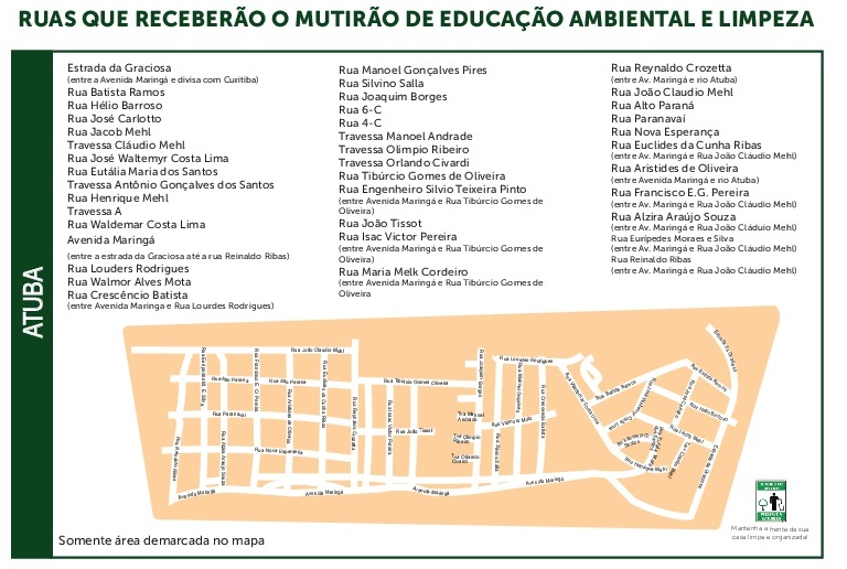 Mapa Mutirão